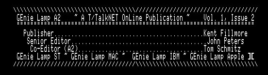 GEnieLamp A2 9205 screenshot