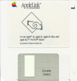 AppleLink Personal Edition program disk