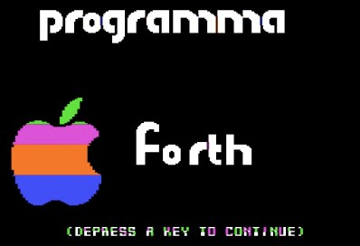 Programma FORTH splash screen