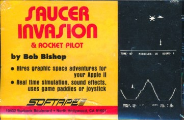 Bob Bishop: Saucer Invasion & Rocket Pilot