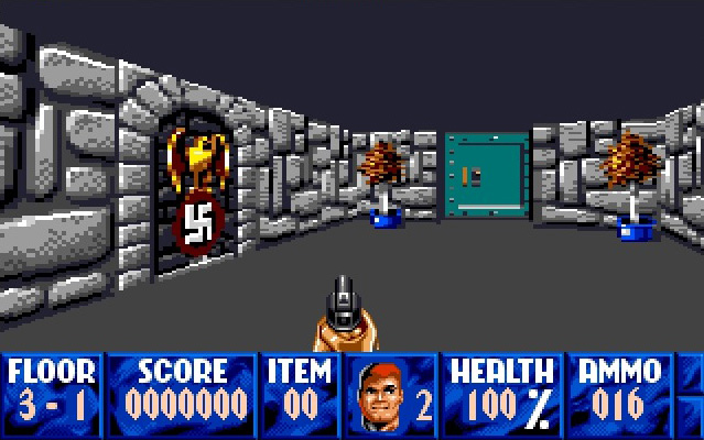 The Long Strange Saga of Wolfenstein 3D On The Apple IIGS