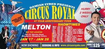 Giveaway – Family Passes for Circus Royale – Melton