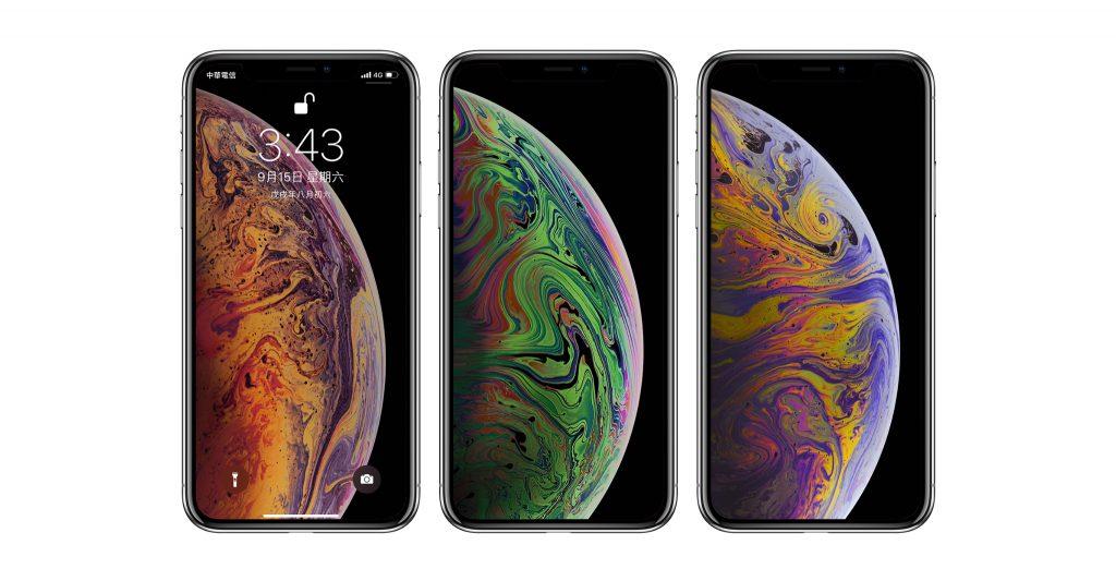 iPhone XS 及 iPhone XS Max 專屬墨水泡泡桌布下載 - 蘋果仁 - 你的科技媒體