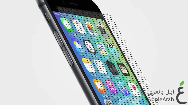 الايفون 6s بتقنية Force Touch ثلاثية الأبعاد