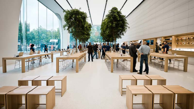 متجر Apple في بروكسل