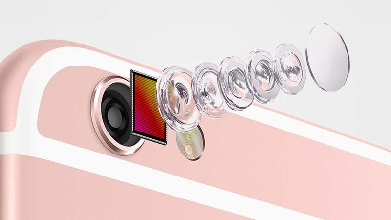 عدسات كاميرا الايفون 6s