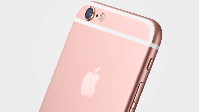 الايفون 6s الذهبي الوردي