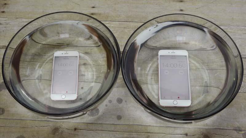 الايفون 6s والايفون 6s بلس تحت الماء