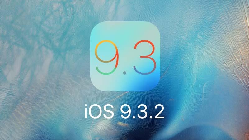 نظام iOS 9.3.2