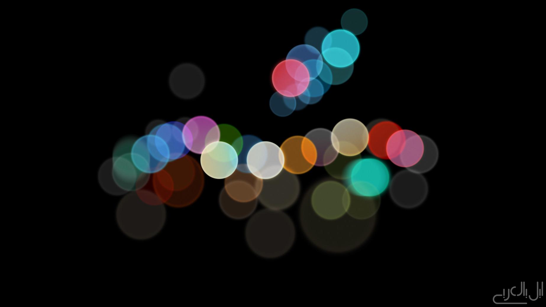الصورة الرسمية لمؤتمر الايفون 7