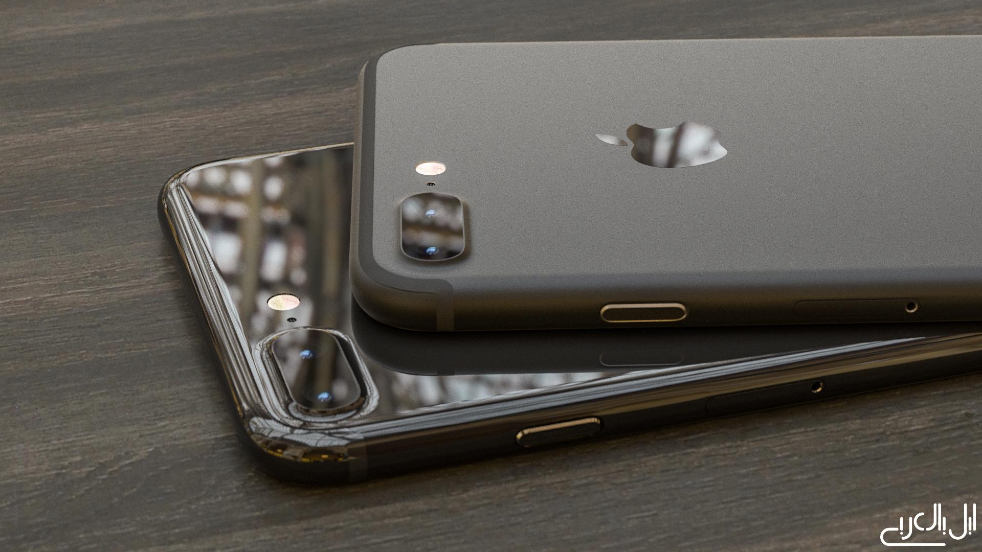 iPhone 7 Plus Matt vs Glossy Black Corona