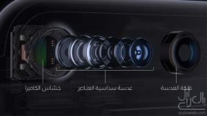 نظام كاميرا الايفون 7