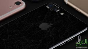 خدش الايفون 7 الأسود اللامع