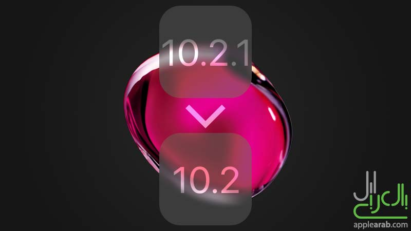 داونجريد iOS 10.2.1 إلى iOS 10.2