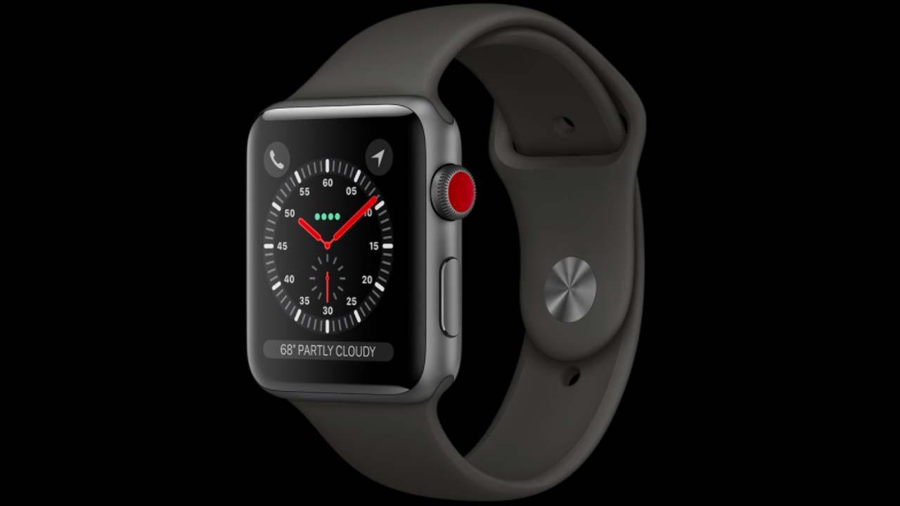 ساعة Apple Watch 3 بتقنية LTE