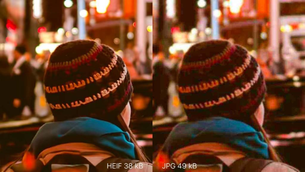 صور JPG ضد HEIF