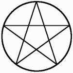 Pentacle-circumscribed
