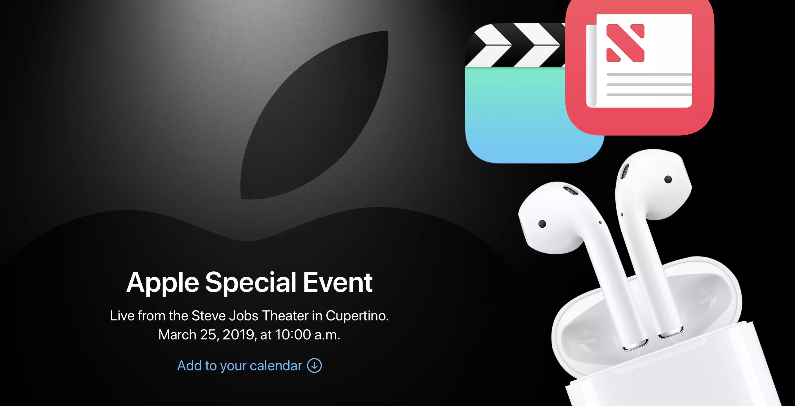 airpods 2 march 25th Apple event