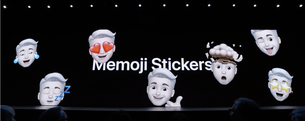 memoji stickers