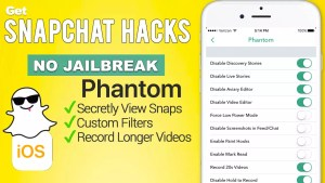 phantom for snapchat apps4iphone