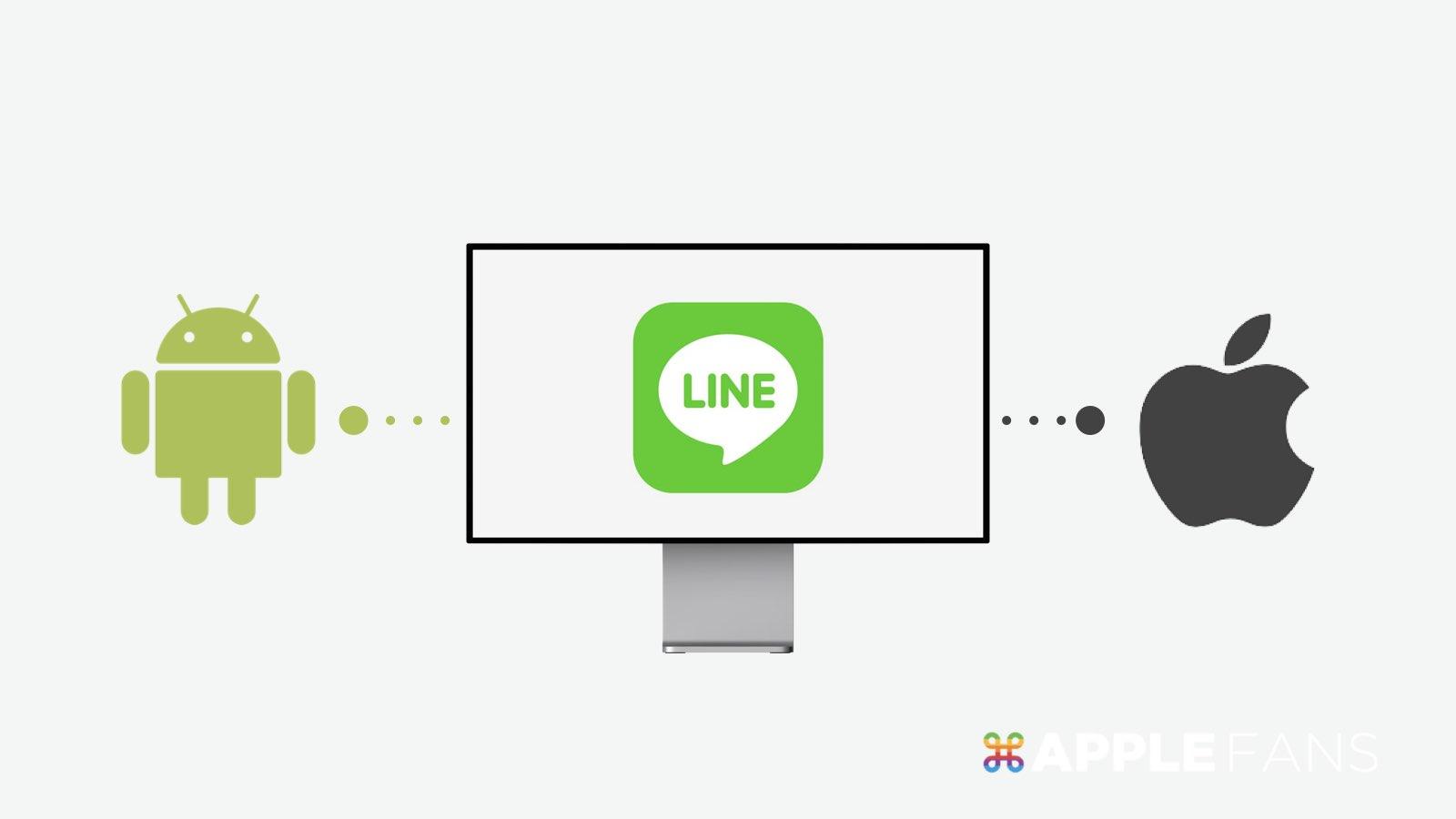 LINE 跨系統