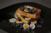 FRENCH TOAST AND CRABAPPLE GRILLED CHEESE