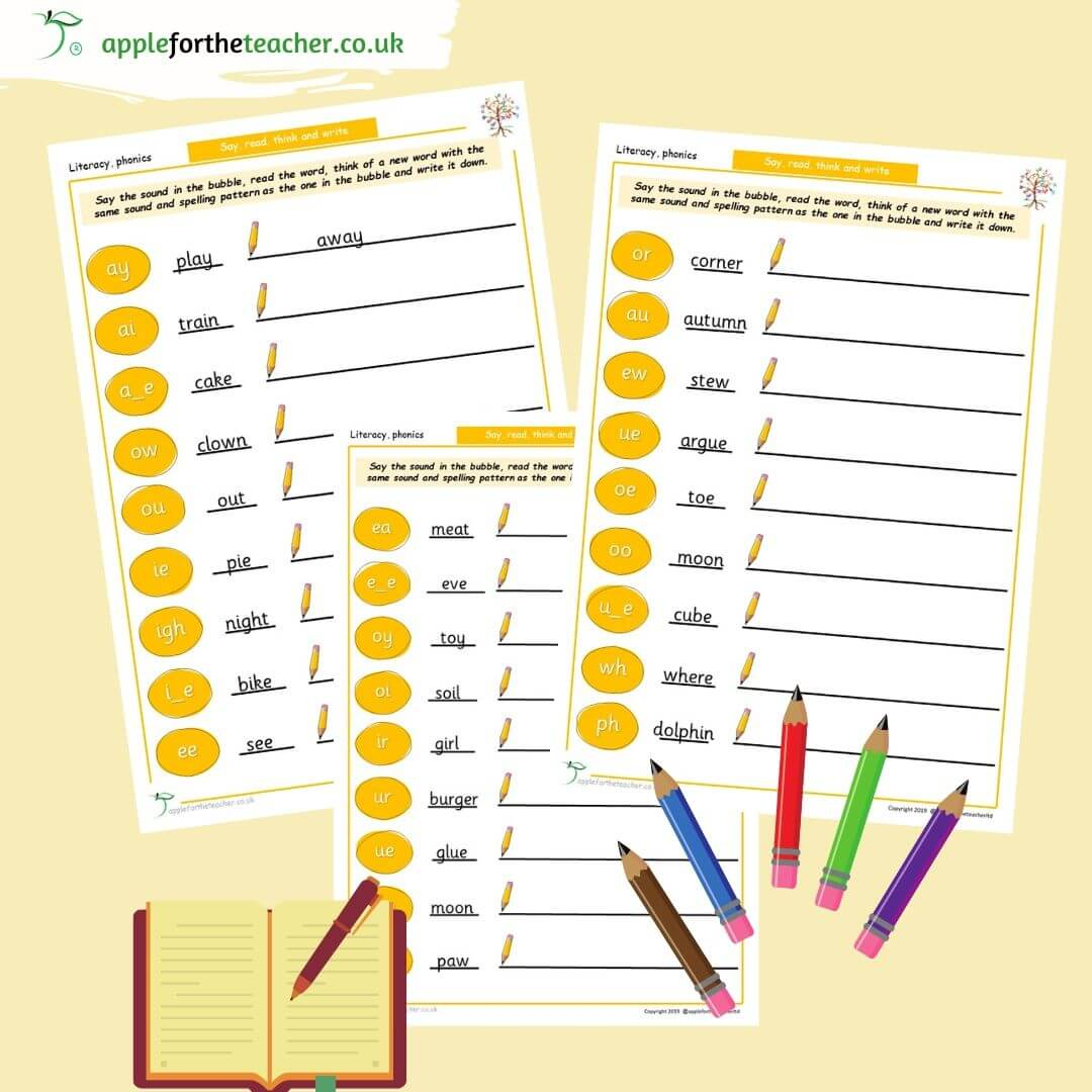 Phonics Phase 5 Say And Write Words