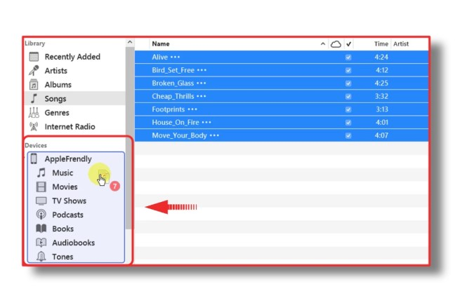 How to manually add Music to iPhone, iPad or iPod Touch from iTunes