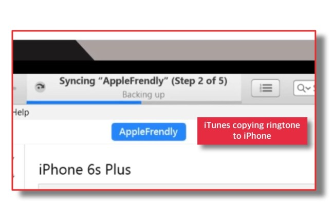 how to sync ringtones to iphone with itunes 12