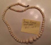 Necklace belonging to Grace Daniel Applegate (1877-1957)