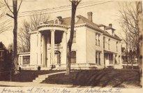 Home of G. W. Applegate and Grace Daniel Applegate, Corydon.