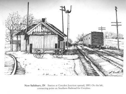 Drawing of New Salisbury - Corydon Junction