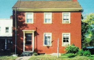 Posey House, built 1817