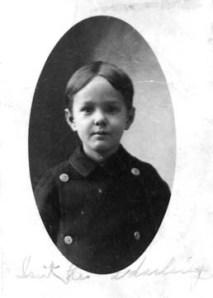 Ted Applegate, 3 years (1906)