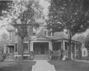 604 N. Capitol Ave., Corydon. Home of Wilson Cook and wife Elizabeth Applegate, Corydon
