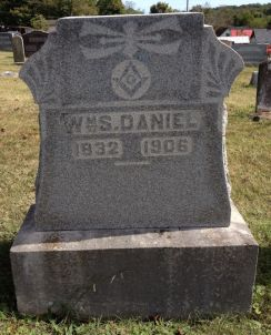 William Solomon Daniel headstone