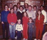 Family gathering 1984