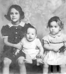 Ann, Grace, Sue, 1938