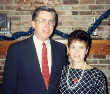 Barb and Don, Dec. 24, 1987