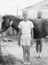 Rica, Grace and Baby, Monahans, 1949