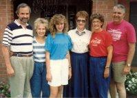 Marshall, Sue, Christina, Ann, Grace, Richard, 1989