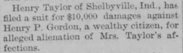 Lawsuit against Henry Pond, 5 Feb 1898