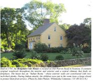 Benjamin Cole (1678-1748) home