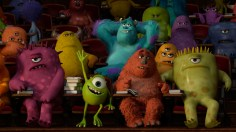 """""""MONSTERS UNIVERSITY"""" (L-R) MIKE and SULLEY amongst other monsters. ©2013 Disney•Pixar. All Rights Reserved."""