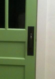 DIY Oil Rubbed Bronze Door handle