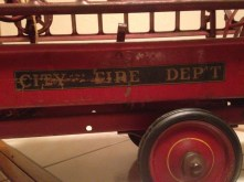 Steelcraft Vintage Hook and Ladder Truck