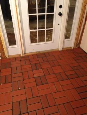 New mudroom floor