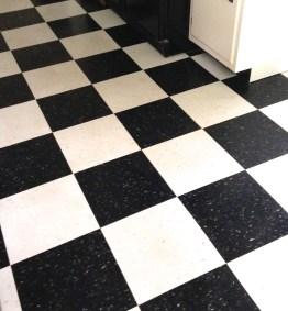 Clean Kitchen floor!