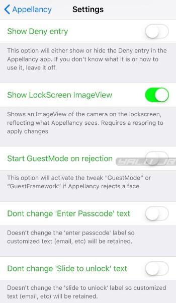 أداة Appellancy فتح الجهاز عن طريق التعرف على الوجه iOS 11