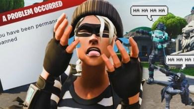 شركة Epic Games تحظر لاعبين Fortnite لأستخدامهم الجلبريك